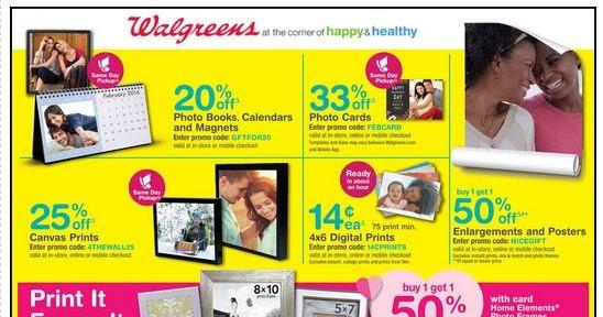 Walgreens printable prescription coupons
