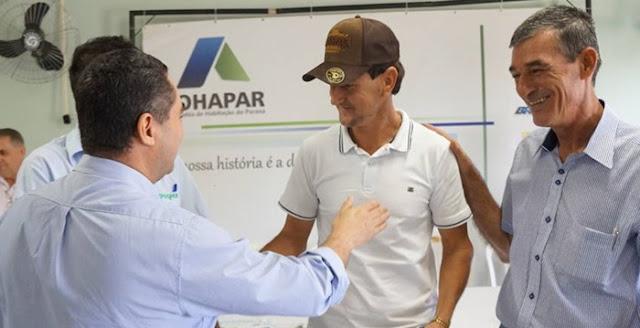 Nova Cantu: Prefeitura e Cohapar entregam 23 casas rurais