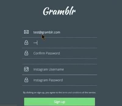 مميزات برنامج Gramblr