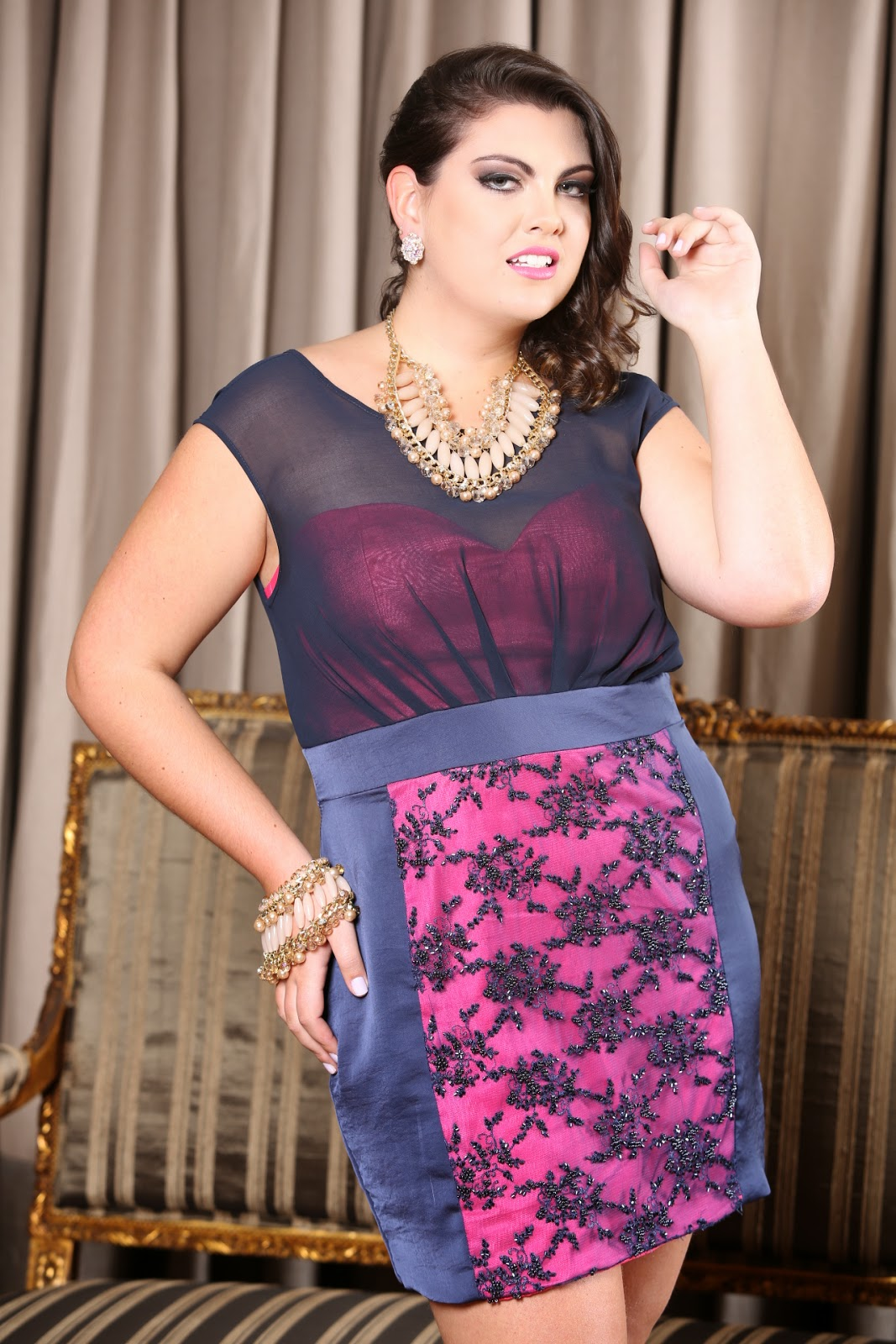 Maggníficas  Look Plus Size by Arthur Caliman 23d5947ed0a3b