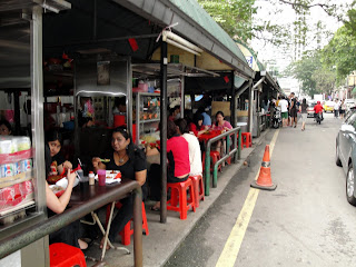 Many oppurtunities in Kuala to have good and big selection of street food