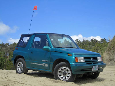 Suzuki Sidekick at Sand Lake