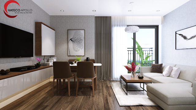 thiết kế căn hộ tiện nghi hiện đại