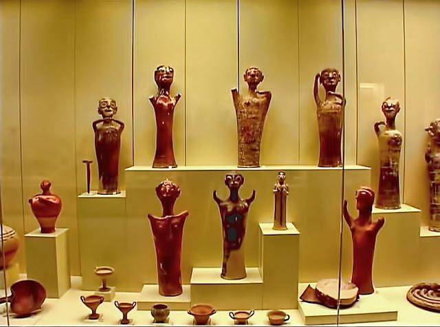 Εκθέματα από τα αρχαιολογικά μουσεία των Μυκηνών και του Ναυπλίου σε έκθεση στο Λος Άντζελες