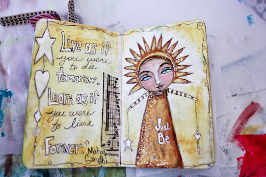 Beacon of Light -- art journal