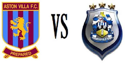 Prediksi Skor Aston Villa vs Huddersfield Town 17 Agustus 2016 Championship