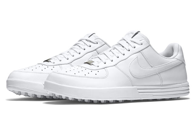 the latest 6a192 de67a Worn on the PGA Tour by Nike athlete Tony Finau, the Nike Lunar Force 1 G  ( 140) will be available April 1 in two colorways (black white and  white white) at ...