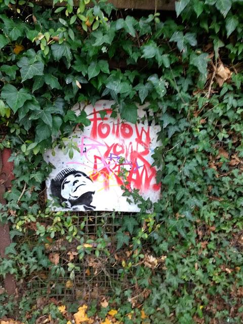 Streetart, The Tins, Land South of Coldhams Lane, Cambridge, Romsey Beach, Romsey Lakes