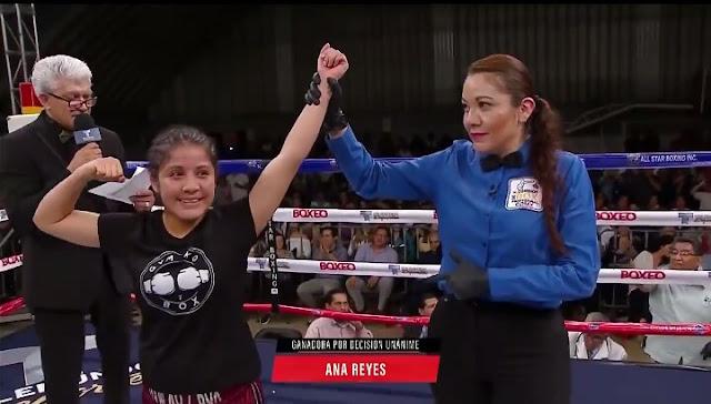 Ana Laura Reyes defeats. Morena Ruiz,