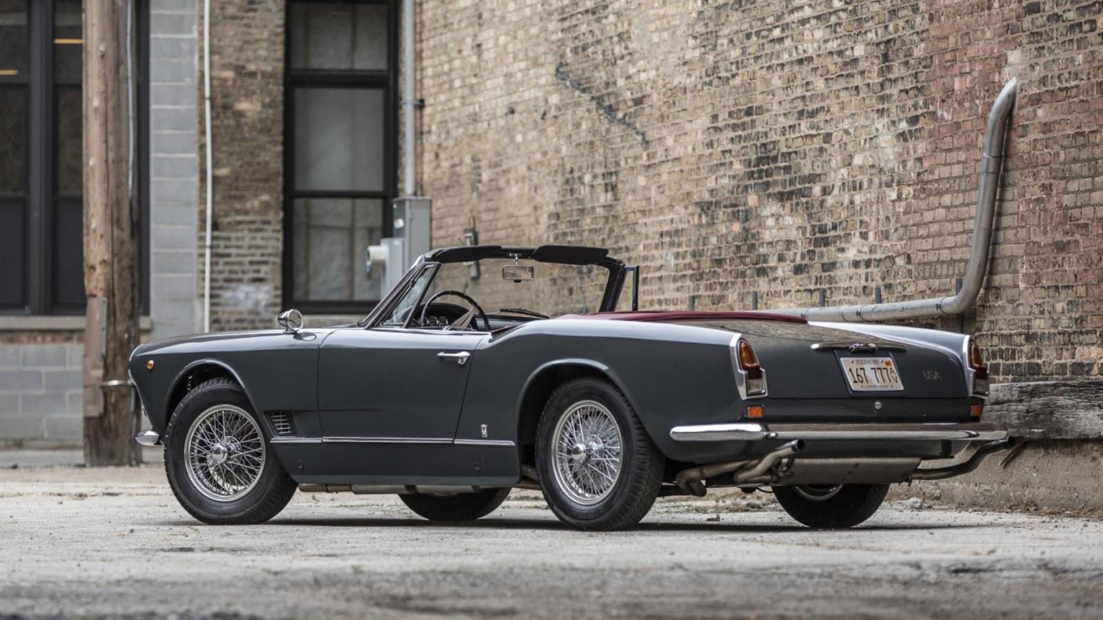 1960 Maserati 3500 GT Spyder: $880,000