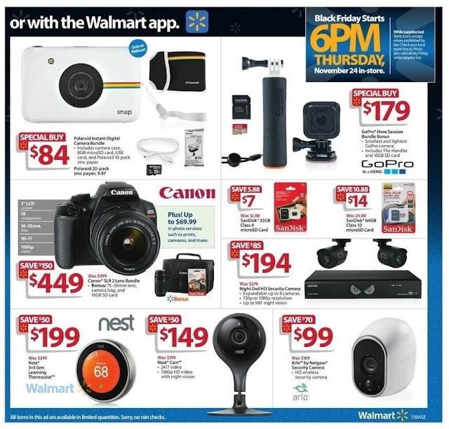Night Owl HD Security Camera, Nest Cam Night Polaroid Camera Black Friday Walmart 2016 Deals