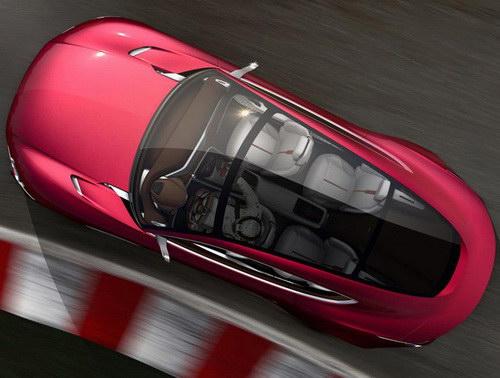 www.Tinuku.com MG Motor announced E-Motion EV coupe concept at Shanghai Auto Show