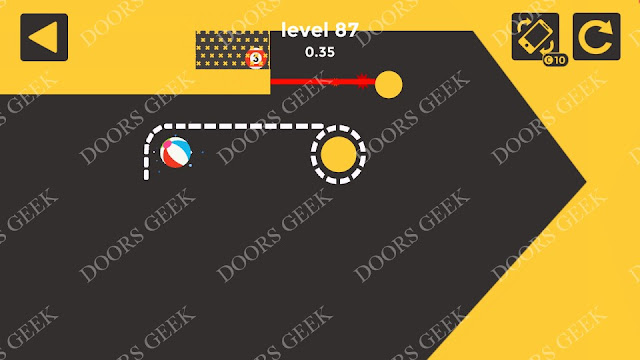 Ball & Ball Level 87 Solution, Walkthrough, Cheats for android and ios