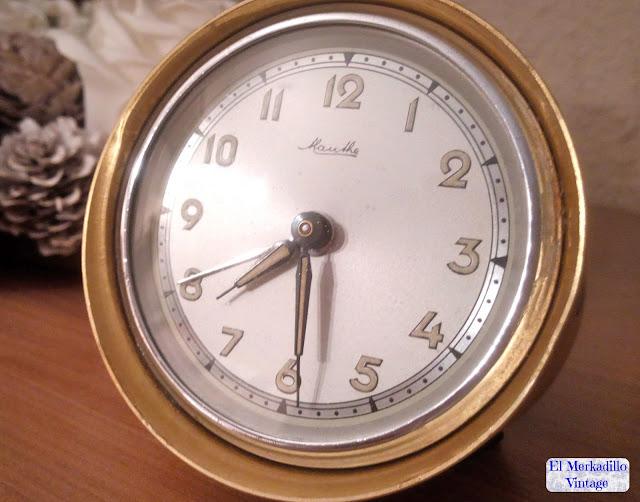 Reloj Despertador Vintage marca Mauthe