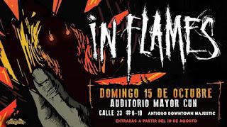 Concierto de IN FLAMES en Bogota 2017 1