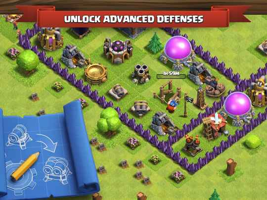 Game Strategi Online Terbaik Android Clash of Clans Mod Apk