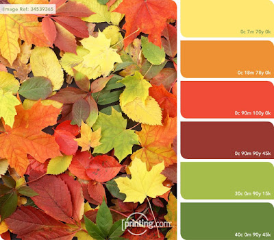 October colour inspiration