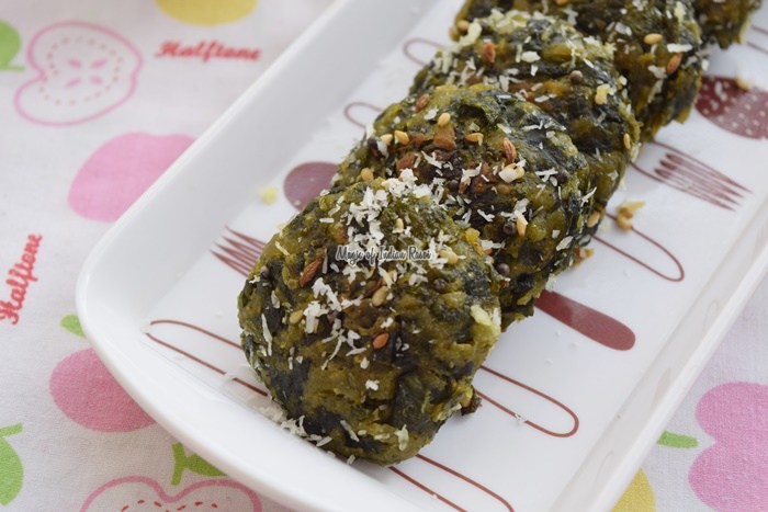 Gujarati-Methi-Palak-Muthiya-Recipe-Magic-of-Indian-Rasoi-Priya R
