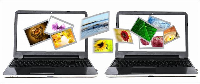 4 طرق لنقل الملفات بين جهازين كمبيوتر عالم الكمبيوتر