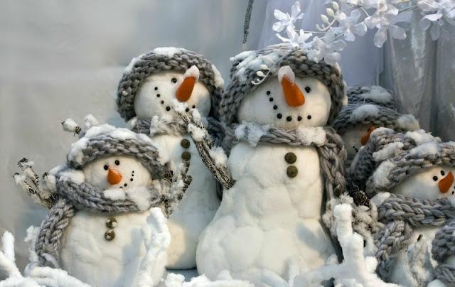Краткая новогодняя энциклопедия: Откуда взялся Снеговик