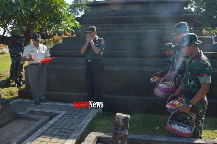 Mayor Inf Mansyur Kole, Pimpin Sebanyak 196 Taja Ziarah di Makam Sultan Hasanuddin