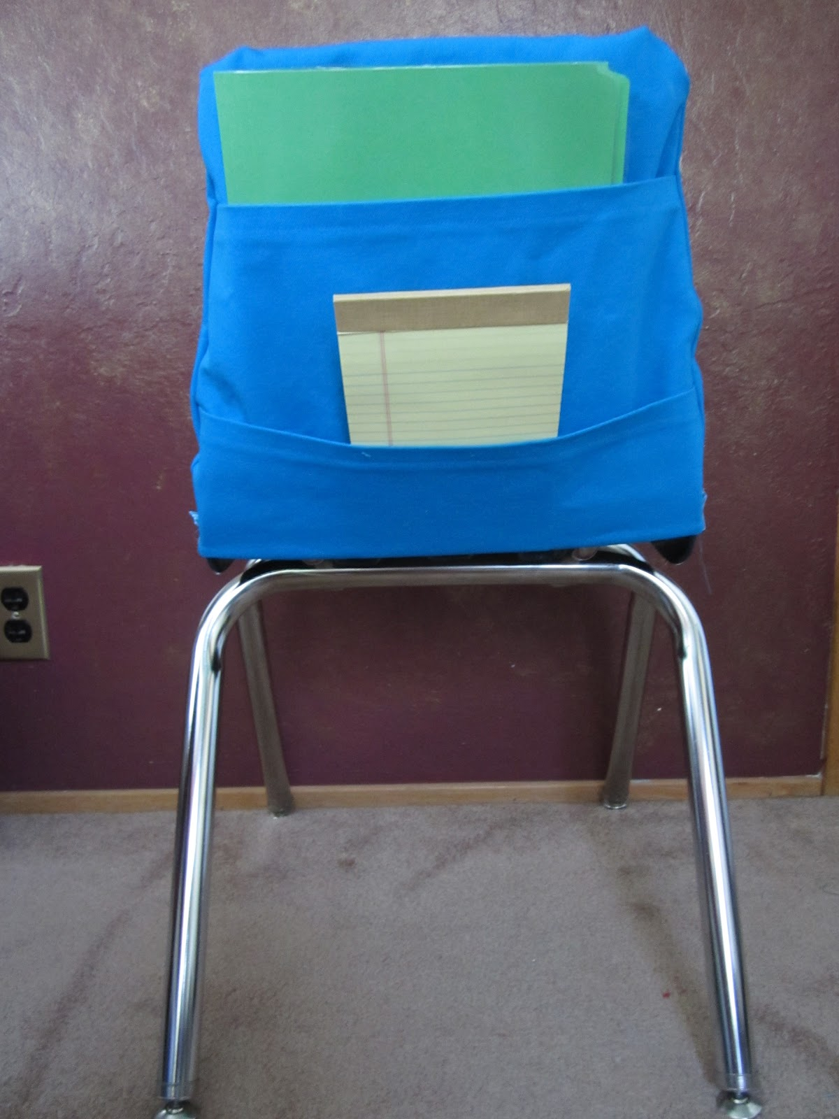Classroom Chair Covers With Pocket Bows For Chairs The Lower Elementary Cottage Pattern