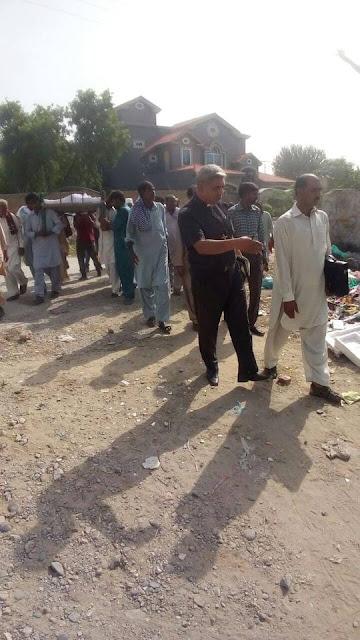 Encroachment on Graveyard Land Ticks Local Christian Community Off   Attock, Pakistan