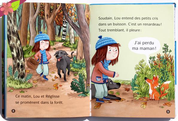 Les animaux de Lou : Ne pleure plus, Petit Roux ! de Mymi Doinet et Mélanie Allag