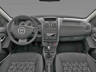 Salpicadero y cuadro de mandos del Dacia Duster