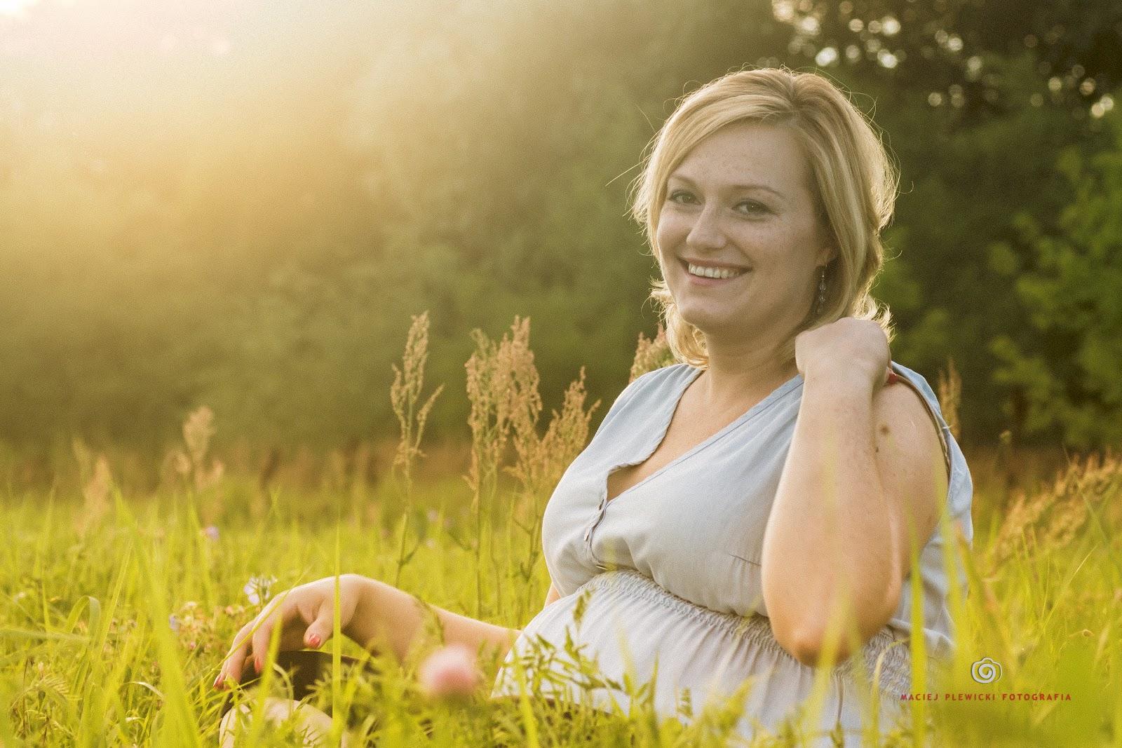 Fotografia ciążowa - Justyna