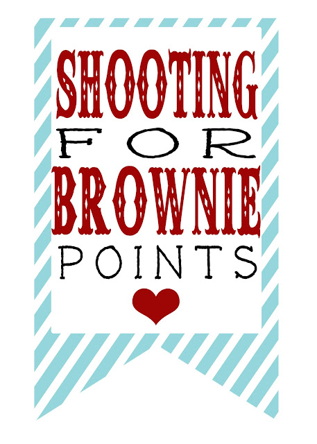 graphic relating to Shooting for Brownie Points Free Printable titled The Gaines Gang: V.Working day Freebie Printables