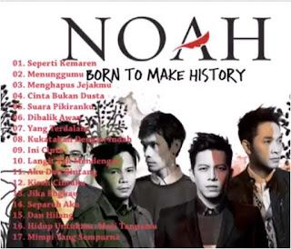 Koleksi Lagu Noah Terbaik Full Album Nonstop Mp3 2017, Noah Seperti Kemarin, Noah Menunggumu, Noah Menghapus Jejakmu, Noah Cinta Bukan Dusta, Noah Suara Pikiranku, Noah Dibalik Awan, Noah Yang Terdalam,