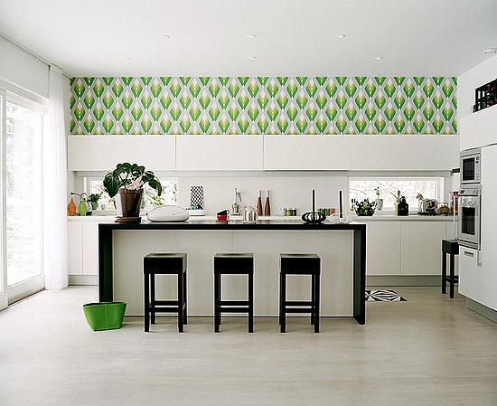 Classic Kitchen Wallpaper Designs Ideas Part 56