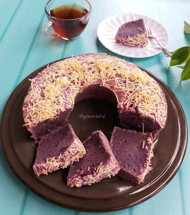 Resep Cara Membuat Kue Bolu Dari Bahan Ubi Ungu Yang Enak