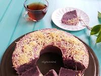 Resep Cara Membuat Kue Bolu dari Bahan Ubi Ungu Yang Enak dan Tampilanya Bagus