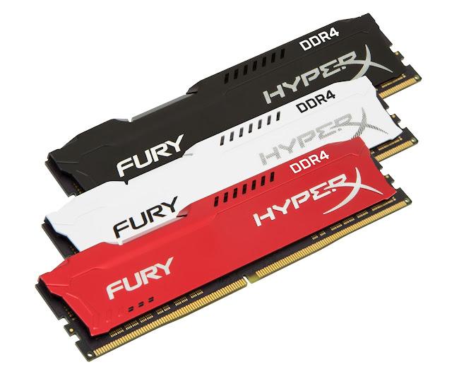 HyperX expande sus líneas de productos FURY DDR4 e Impact DDR4