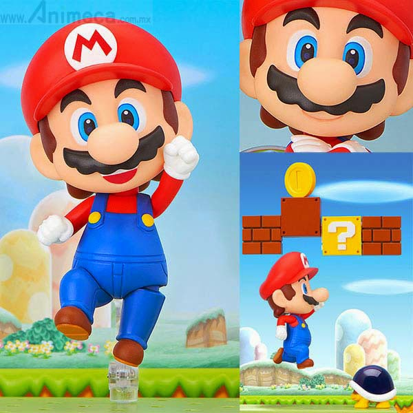 MARIO NENDOROID FIGURE Super Mario GOOD SMILE COMPANY