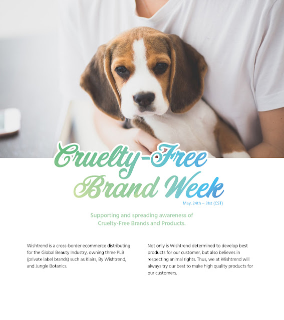 Wishtrend Cruelty-Free Brand Week Promotion