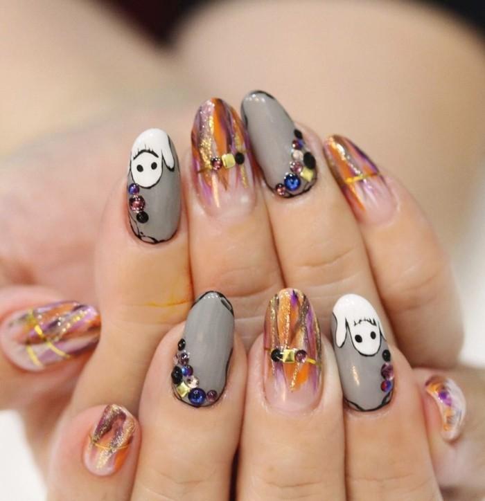 Create Best Halloween Nail Designs And Nail Polish Tips