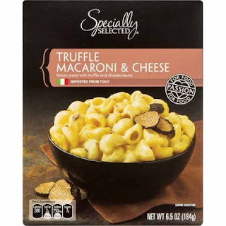 A stock image of Specially Selected Truffle Mac and Cheese, from Aldi