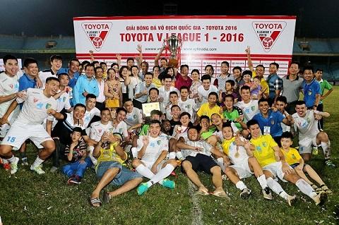 Đội Hà Nội T&T-họ xứng đáng đăng quang