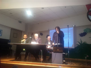 Η Μπέττυ Λεωτσάκου μιλάει στο Πάνελ οι κύριοι Μαθιόπουλος, Κωνσταντάρας και Μαργιόλας