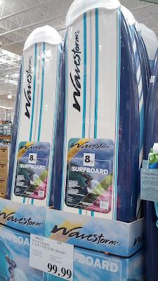 Wavestorm 8 Foot Soft Top Surfboard Costco Weekender