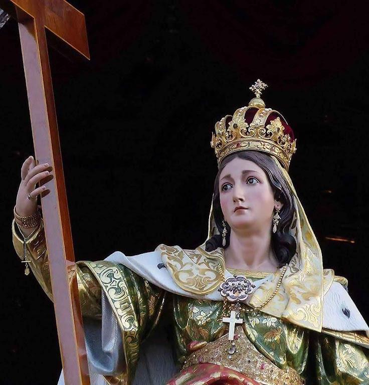 Santa Helena imperatriz mandou construir a primeira igreja do Santo Sepulcro. Basílica de Santa Helena em Birkirkara, Malta
