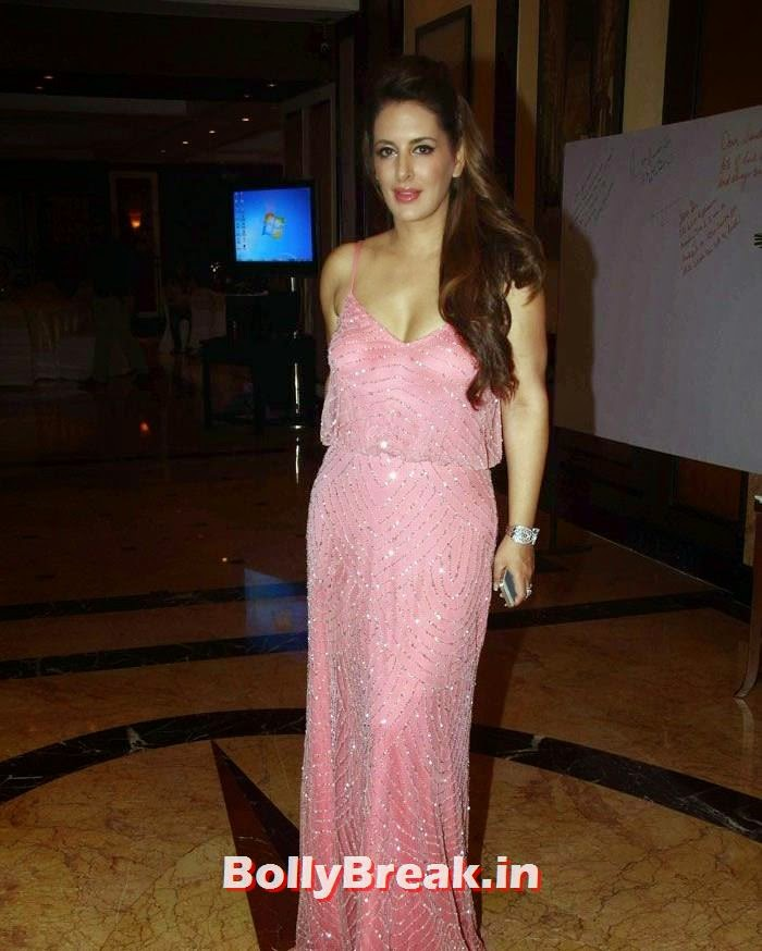 , Pria Kataria Puri Hot Images in Pink gown Dress