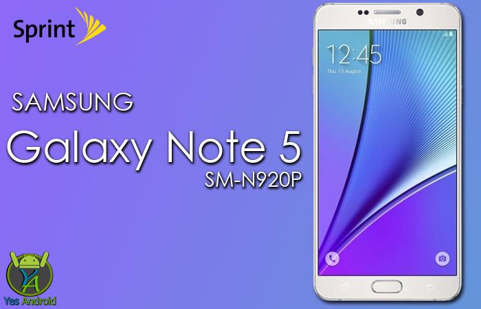 N920PVPS3BQB1 | Galaxy Note 5 (Sprint) SM-N920P