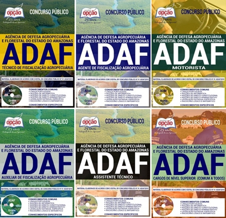 Apostila Concurso ADAF 2018