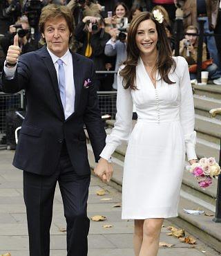D Paul McCartney & Nancy Shevell