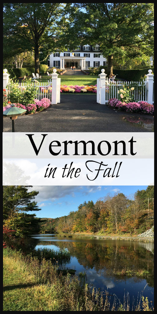Vermont in the Fall - Pretty Towns and Things to Do