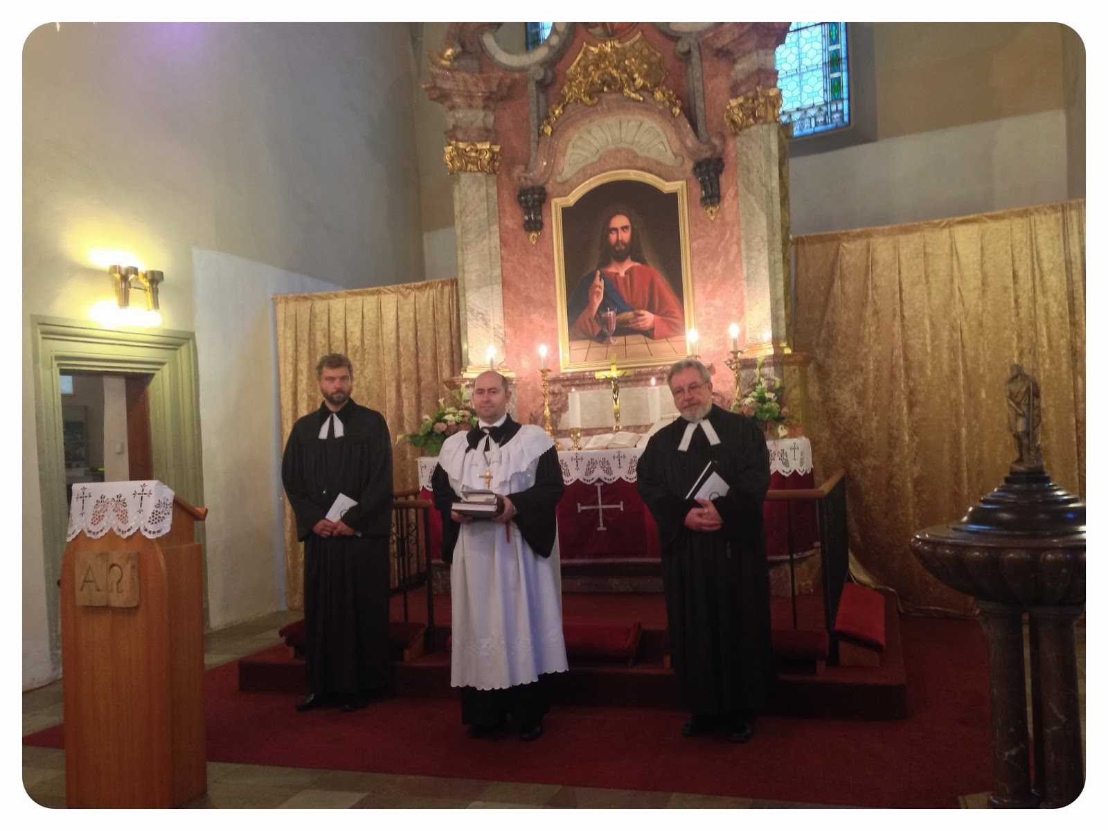 20th Anniversary Service at St Michael's in Prague